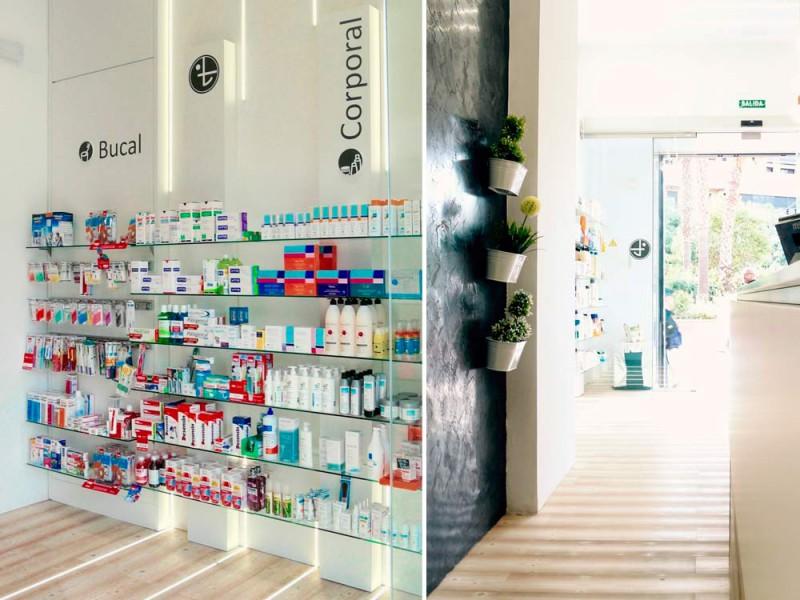 Montaje mobiliario Farmacia Gómez Taylor